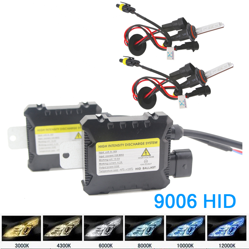 Xenon HID Replacement Kit 9006 35W 12V Bulb 4300K 6000K 10000K Car Parking Light Fog Headlight 1 Pair For Toyota In Assembly From