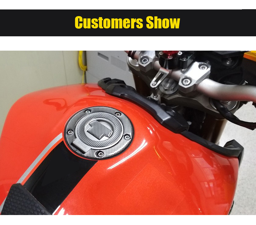 Motorcycle Tank Gas Protector Pad Sticker Fiber Rubber Decal Devil Fit For Yamaha FZ6R 2009 2010 2011