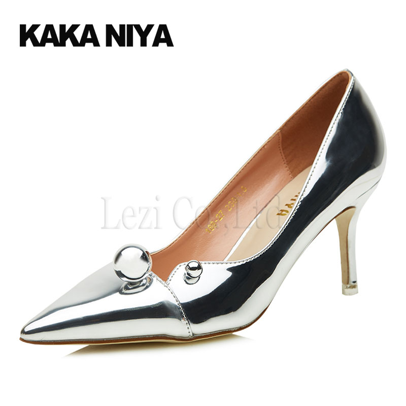 Gold Shoes Small Heel Promotion-Shop for Promotional Gold Shoes ...