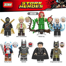 LEGOing Super Heroes Marvel The Avengers Batman Movie Figures Action Model Building Blocks Toys For Children(China)