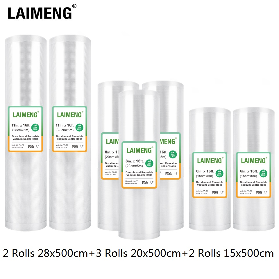 LAIMENG Vacuum Bags For Vacuum Food Sealer Sous Vide For Vacuum Packer Storage Bags Food Fresh