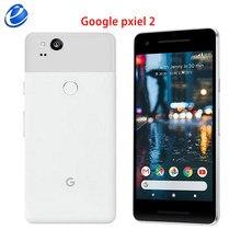 Original desbloqueado google pixel 2 5.0 cellphone 4 4g lte celular android bom como s8 smartphone