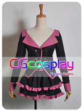 Free Shipping Cosplay Costume Vocaloid Sweet Devil New in Stock Retail / Wholesale Halloween Christmas Party(China)