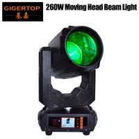 Gigertop TP 260W High Power Moving Head Light non waterproof IP20 MSD 260W DMX/Sound/Auto/Master slave Beam Effect 7 Color