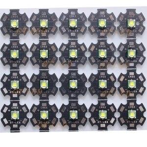 Image 4 - 5 PZ CREE XML XM L T6 LED U2 10 W BIANCO Bianco Caldo di Alto Potere LED 5050 12 V Diodo Emettitore con 12mm 14mm 16mm 20mm PCB per DIY