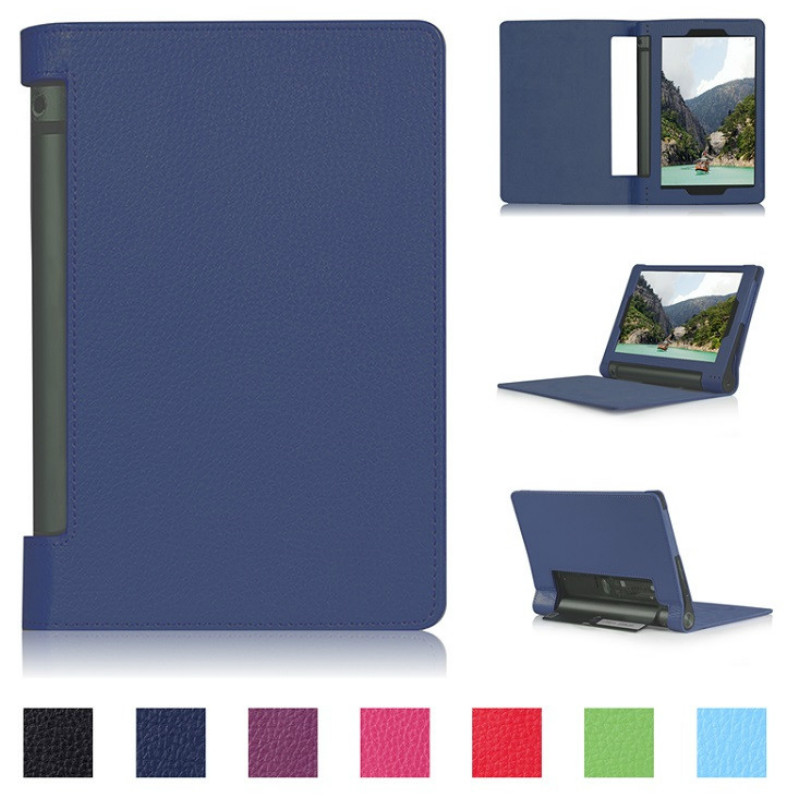 Litchi style PU Leather Case For Lenovo Yoga Tablet 3 8 Cover For Lenovo Yoga Tab 3 Tab3 8 850f YT3-850F 850M 8.0 Case+film+pen thumbnail