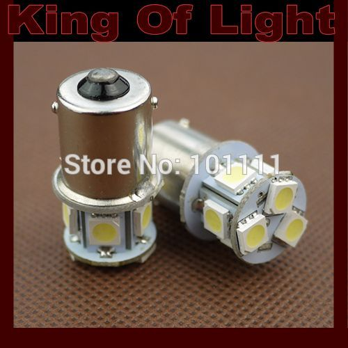 10x High quality led Car styling lighting s25 8SMD 1156 p21w ba15s 8 led SMD 5050 turn signal light Free shipping