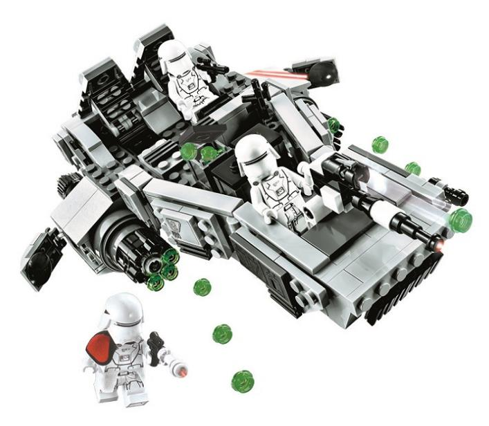 05002 463pcs Lepin Star Wars First Order Snow speeder Building Blocks DIY brikcs toys gift Compatible 75100 10576 for children