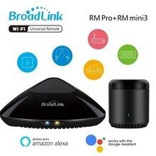 מקורי Broadlink RMPro + או RMmini3 אוניברסלי מרחוק בקר חכם אוטומציה בבית WiFi + IR + RF שליטה באמצעות IOS אנדרואיד