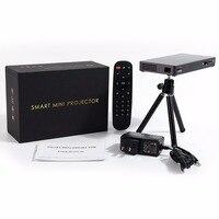 P8I Mini Projektor DLP Quad Core Wsparcie 1920x1080 WiFi Pełna HD 1080 p MINI Projektor dla Kina Domowego HDMI Kabel domu teatr