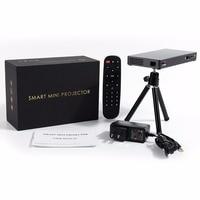 P8I Mini DLP Projector Quad Core Support 1920x1080 WiFi Full HD 1080p MINI Beamer for Home Cinema HDMI Cable home theater