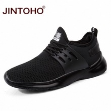 JINTOHO Summer Breathable Shoes For Men Casual Male Shoes Cheap Men Sneakers Brand Men Fashion Shoes Black Sneakers For Men