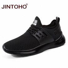 JINTOHO été chaussures respirantes pour hommes décontracté mâle chaussures pas cher hommes baskets marque hommes chaussures de mode baskets noires pour hommes