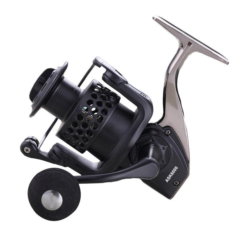 2017 качество Full Metal Рыболовная катушка 13 + 1bb 1000-9000 серии спиннингом для подачи Рыбалка металлической ручкой Рыболовная катушка PESCA