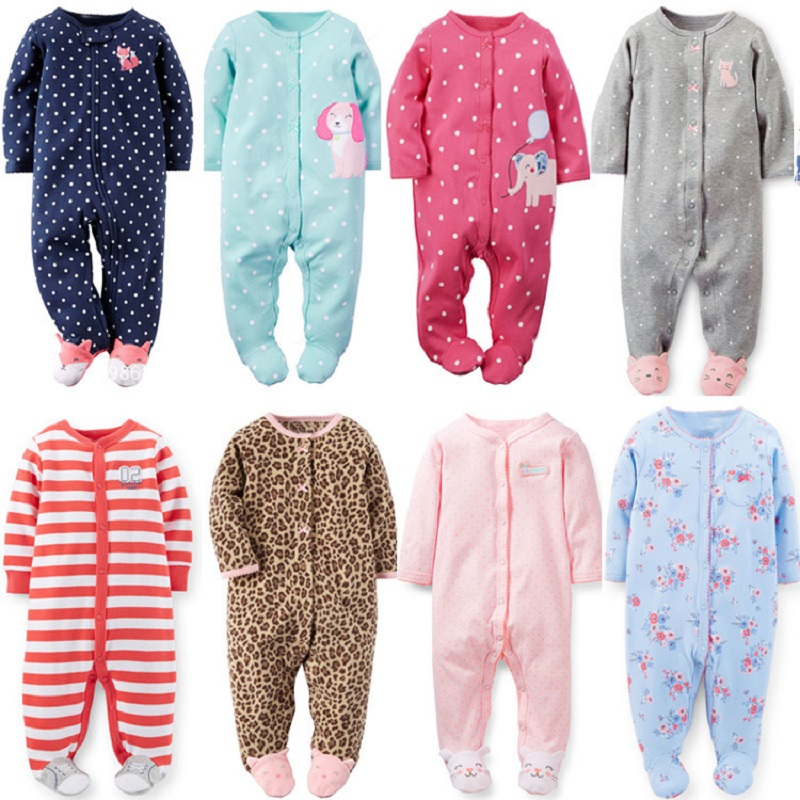 2017 Newborn baby clothes overalls pajamas long sleeve infants boys clothes baby jumpsuit cartoon cute bebes clothes baby romper 2017 new fashion cute rompers toddlers unisex baby clothes newborn baby overalls ropa bebes pajamas kids toddler clothes sr133