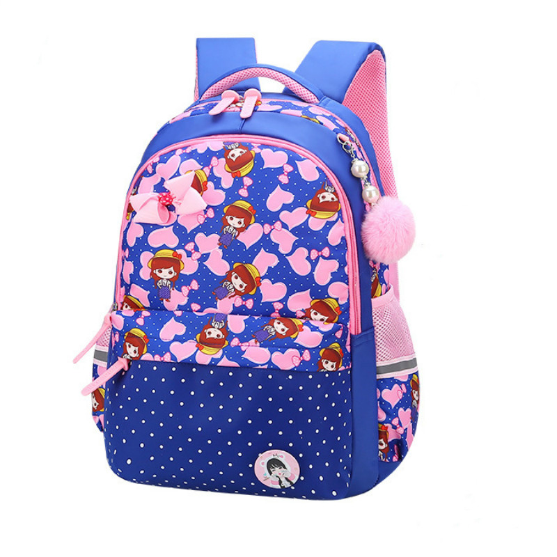 Children School Bags Girls Kids Satchel Primary cartoon backpack princess Orthopedic Backpack schoolbag kids Mochila Infantil