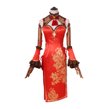 New Anime Date A Live Tokisaki Kurumi Cosplay Costume New Year's Cheongsam Carnaval Disfraces Halloween Costumes for Women XS-XL 2