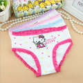 6pcs/lot 2-8Y Hot baby girls underwear kids panties cute briefs children underpants wholesale high quality cotton girl underpant