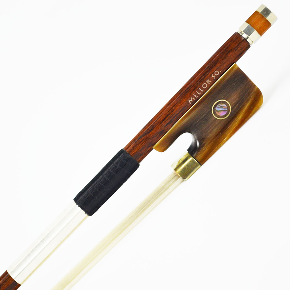Carbon Fiber Viola Bow Pernambuco Performance Mellow and Sweet Tone Master Hand Made For Soloist MELLOR S3M ...