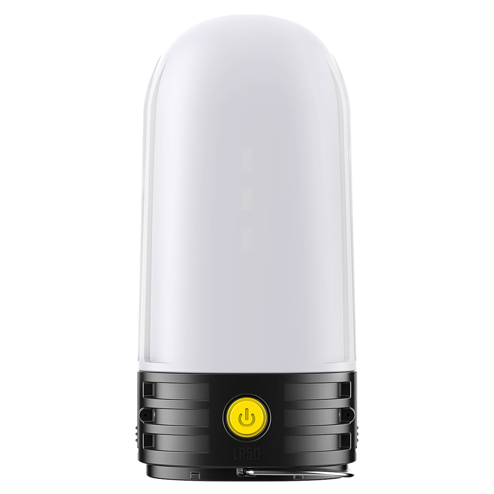 2019 Wholesales Nitecore LR50 2x 18650 USB Rechargeable Camping Lantern 9 LEDs 250 Lumens CRI Power Bank Up To 100 Hours Runtime
