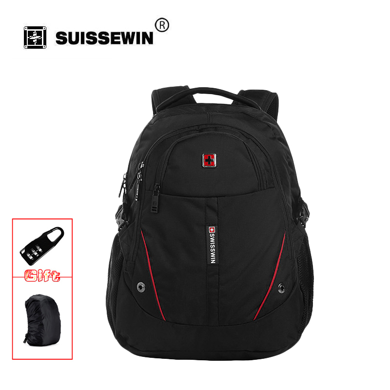 Swisswin Men Laptop Backpack Computer Backpack for Business and Travel Black lightweight Urban Backpack Female Sac a dos SWE1009 wil brawley restaurant owners uncorked twenty owners share their recipes for success volume 1