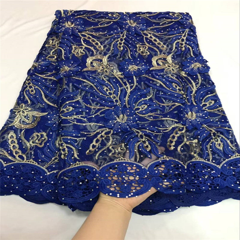 2018 Top Selling Women Nigeria Lace Fabric    High Quality net lace Embroidery with stone French Tulle Lace For Wedding2018 Top Selling Women Nigeria Lace Fabric    High Quality net lace Embroidery with stone French Tulle Lace For Wedding
