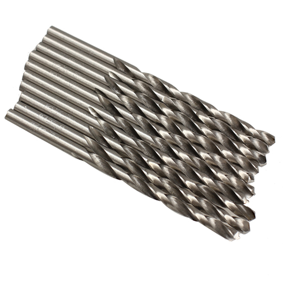 10pcs/lot 3.5mm Micro HSS Twist Drill Bits Straight Shank Auger Bits For Electrical Drill free shipping of 1pc hss 6542 made cnc full grinded hss taper shank twist drill bit 11 175mm for steel