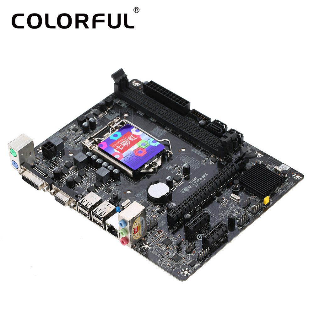 New asus h81m k motherboard cpu i3 i5 i7 lga1150 intel h81 ddr3 sata3 - Colorful C H81m Plus V24a Systemboard La Placa Madre Para Intel H81 Ddr3 Sata3