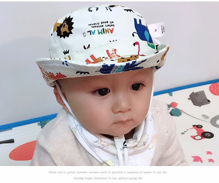 Delicious Ideacherry Infant Summer Sun Cap Baby Girl Outdoor Cotton Visor Baby Floral Prints Beach Bucket Hats 1-3 Years Headwear Brim Hat Hats & Caps Girls' Baby Clothing