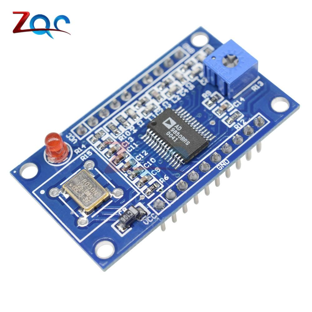 все цены на AD9850 DDS Signal Generator Module 0-40MHz 2 Sine Wave and 2 Square Low-pass Filter Crystal Oscillator Test Equipment Board онлайн