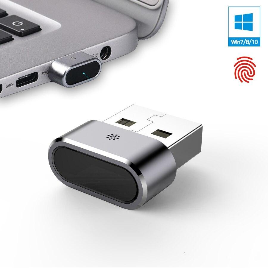 Kercan KE 02 Aluminum Mini USB Fingerprint Reader Module for Windows 7 8 10 hello 360