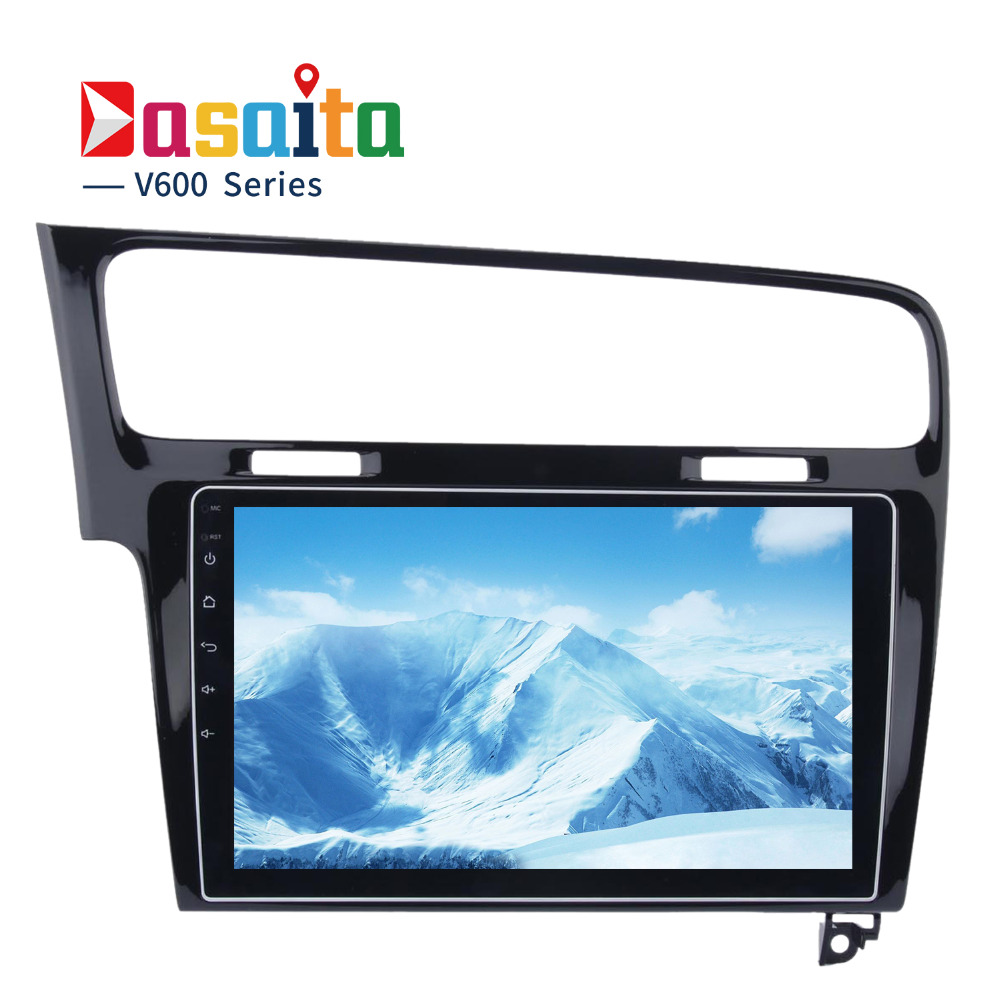 Dasaita 10 2 Android 6 0 Car GPS Player For Vw Golf 7 2013 With Octa
