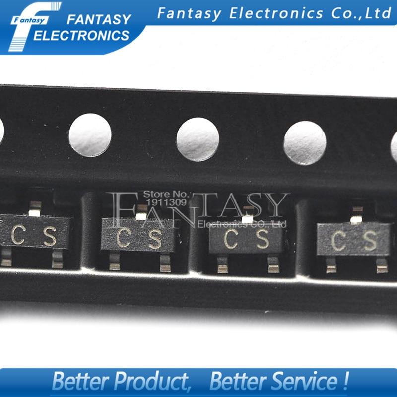 100PCS 2SA733 SOT23 A733 SOT SMD SOT-23 CS New Transistor