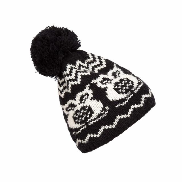 2017 Otoño Invierno hombre/mujer sombreros calientes moda búho ...