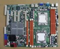 Подержанные оригинальная материнская плата для ASUS Z8NA-D6 LGA 1366 DDR3 для Xeon 5500 процессор UDIMM 24 ГБ, RDIMM 48 ГБ Рабочего Стола материнская плата