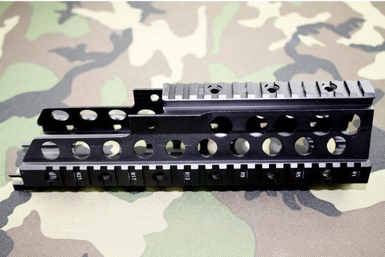 HK G36 / G36C Handguard Quad Rail System Low Profile Mounting