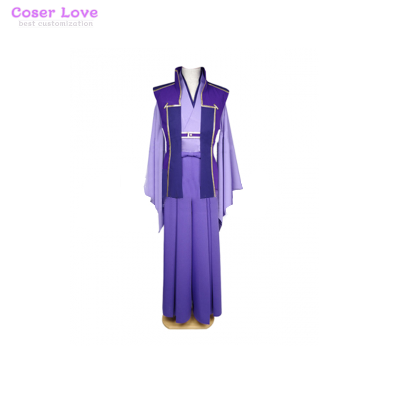 Fate Stay Night Unlimited Blade Works UBW Kojirou Sasaki Assassin Cosplay Carnaval Costume New Years Christmas
