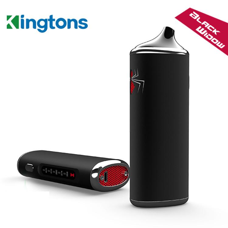 black window kingtons e-cigarettes kit detail