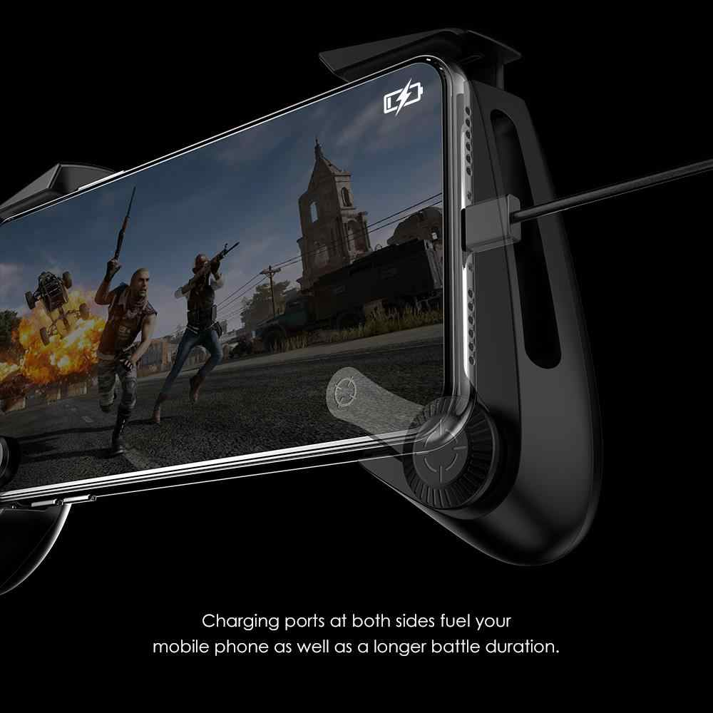 NEW GameSir F3 Plus Capacitance Gamepad AirFlash Grip For official fortnite  pubg games Joystick for Android iOS Smartphones