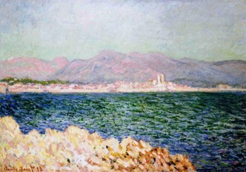 High quality Oil painting Canvas Reproductions The Gulf of Antibes (1888) By Claude Monet hand painted