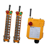 F24 20S for hoist crane 2 transmitter and 1 receiver industrial wireless redio remote control switch switches
