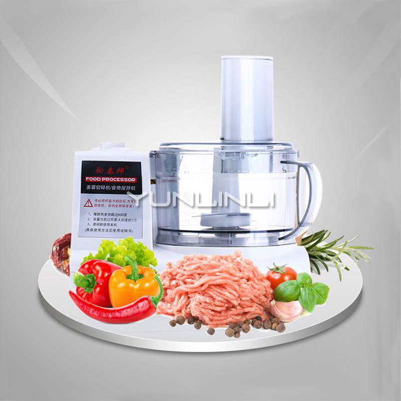 Household Food Processor Commercial Garlic Chopper Electric Meat Grinder Multifunctional Ginger/Garlic Chopping Machine ST-390