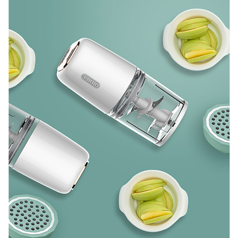 Electric Baby Food Machine Glass Baby Fruits Vegetables Blender Safety Convenient Mini Portable Multifunctional Juice Press