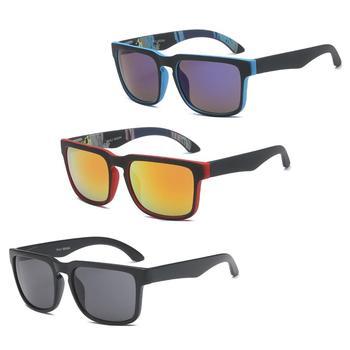 Nowy 2018 plastikowe UV400 Top Outdoor Road okulary rowerowe sportowe okulary rowerowe mężczyźni kobiety Bike okulary rowerowe gogle tanie i dobre opinie As picture Sunglasses Black Z tworzywa sztucznego Octan Jazda na rowerze Men s Colorful Reflective Sunglasses Outdoor Bicycle Riding Sunglasse