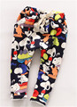 2017 New Kids Spring & Winter Warm Pants Boys Harem Pants Girls Keep Warm Casual Pants Children Cartoon Trousers