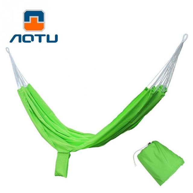 Outdoor Camp Tent Parts Double Hammock Portable Parachute Cloth 2 Persons  Hammock Garden Hanging Chair Sleeping