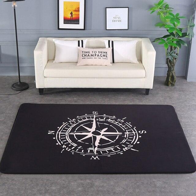 Mode Moderne Kompass Wohnzimmer Schlafzimmer Dekorative Teppich ...