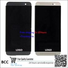 Hohe qualität LCD-Display und Touchscreen Digitizer mit rahmen Für htc one m8t/d/w e8 m8st sd sw m8s test ok + spurhaltungs keine.