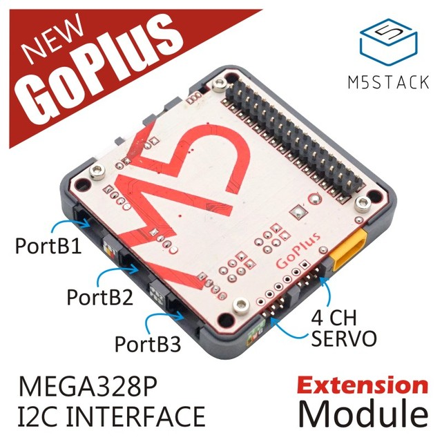 US $9 95 |M5Stack New Arrival GOPLUS Module with MEGA328P IR Transmitter  and Receiver suit for ESP32 Kit-in Demo Board Accessories from Computer &