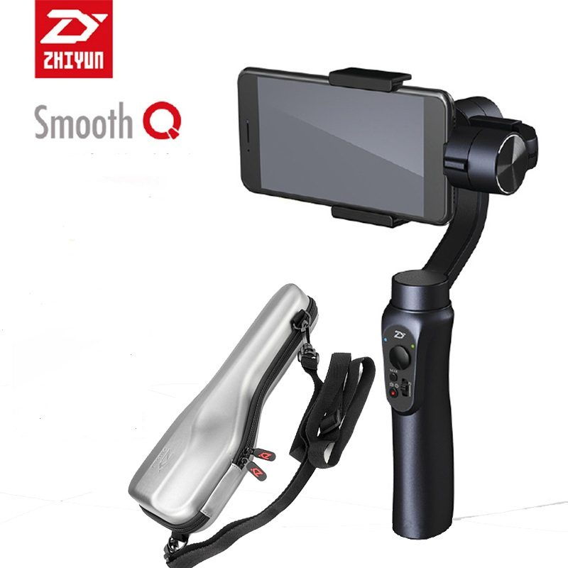 Zhiyun Smooth Q 3 Axis Handheld Gimbal Stabilizer without counterweight for iPhone Huawei Samsung Android Smartphone